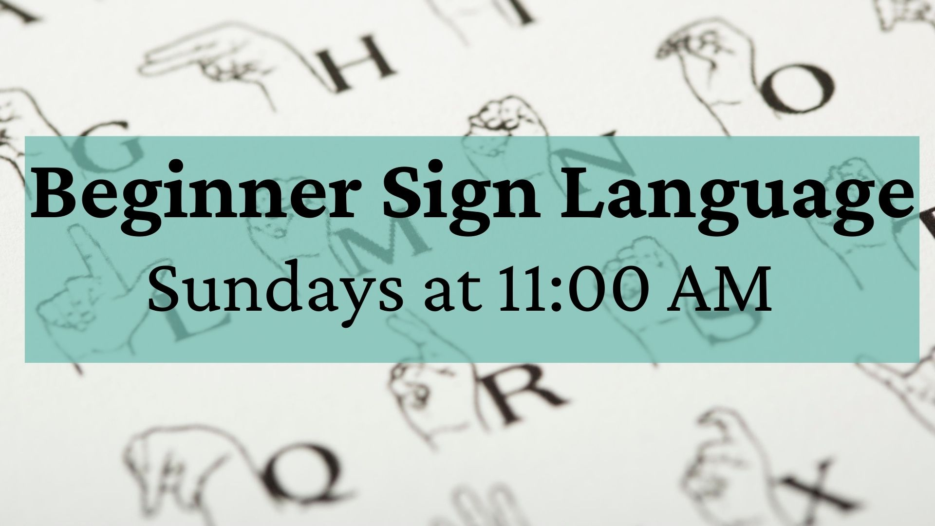 Beginner Sign Language