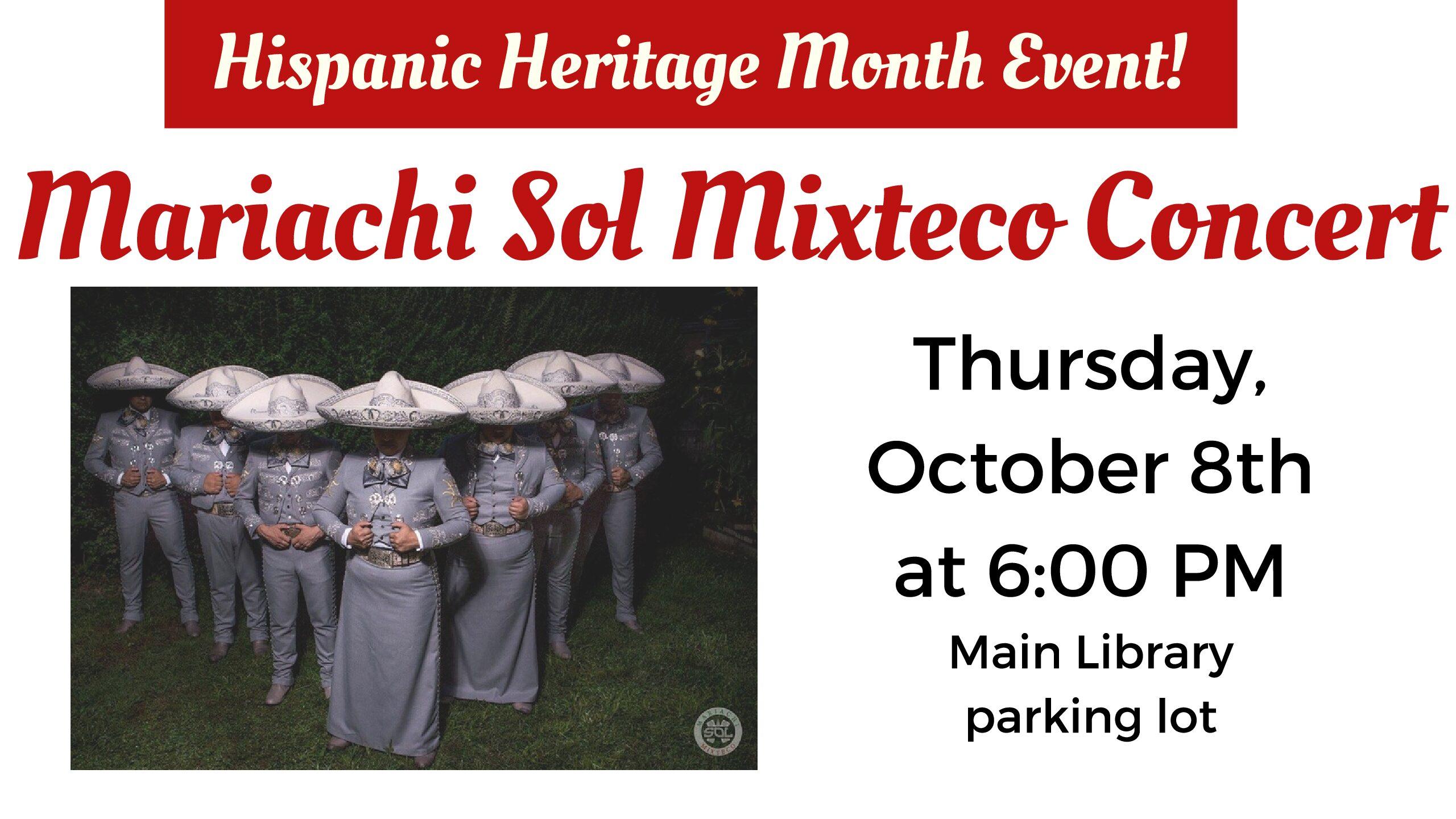 Mariachi Sol Mixteco Concert