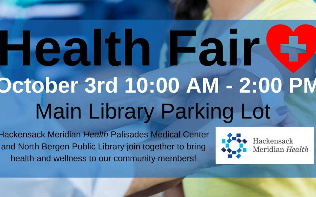 Health Fair with Hackensack Meridian Health Palasades Medical Center