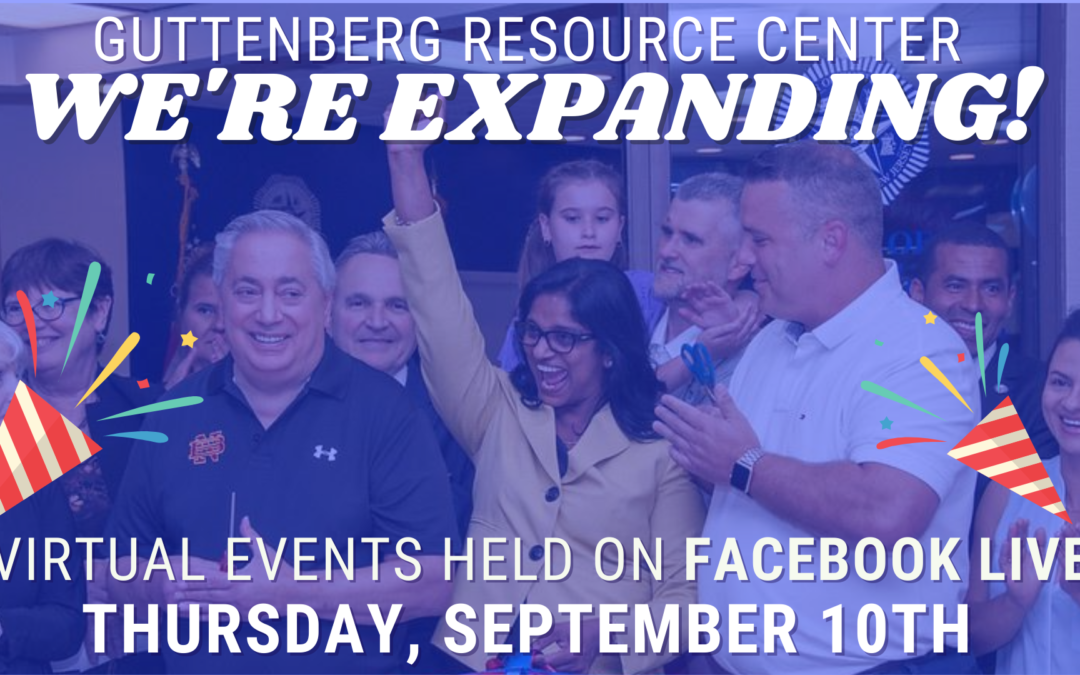 Guttenberg Resource Center Virtual Expansion Events