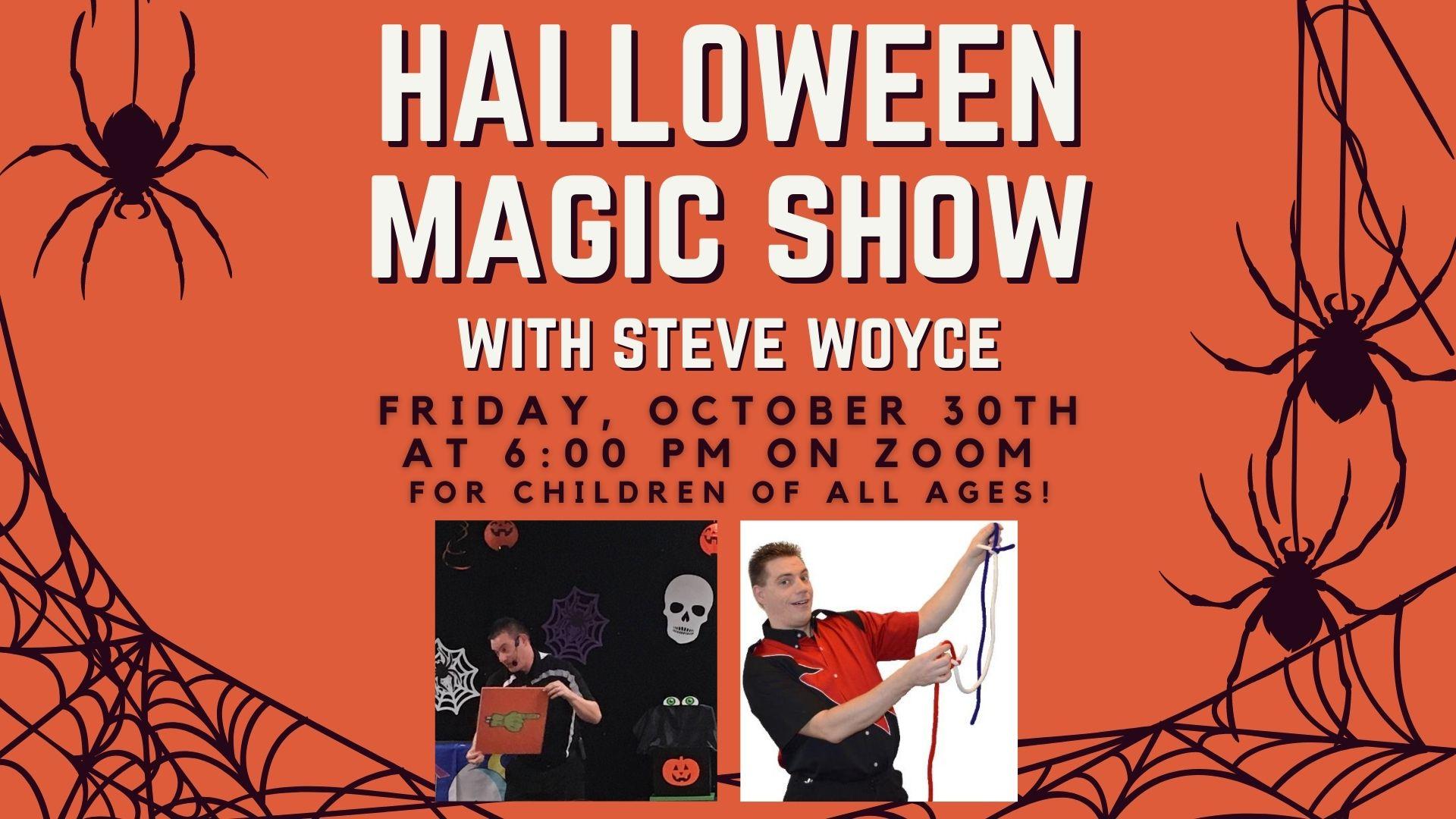 Halloween magic show program