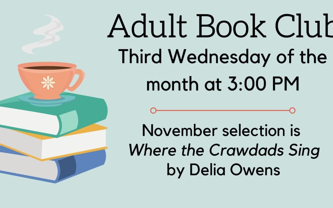 November Adult Book Club