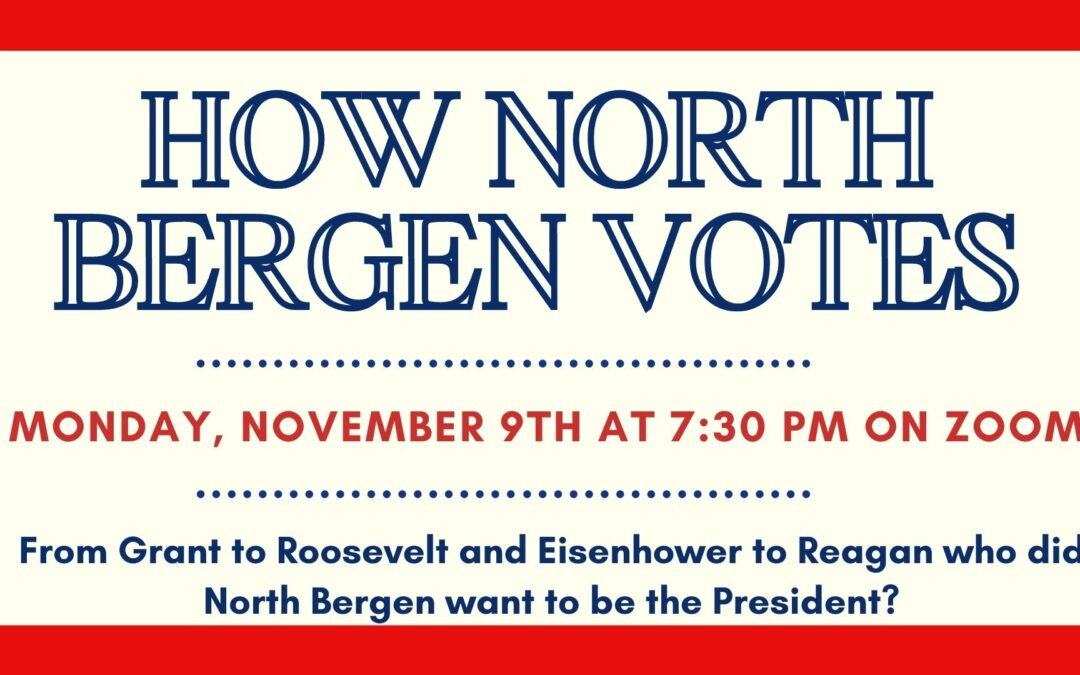 How North Bergen Votes