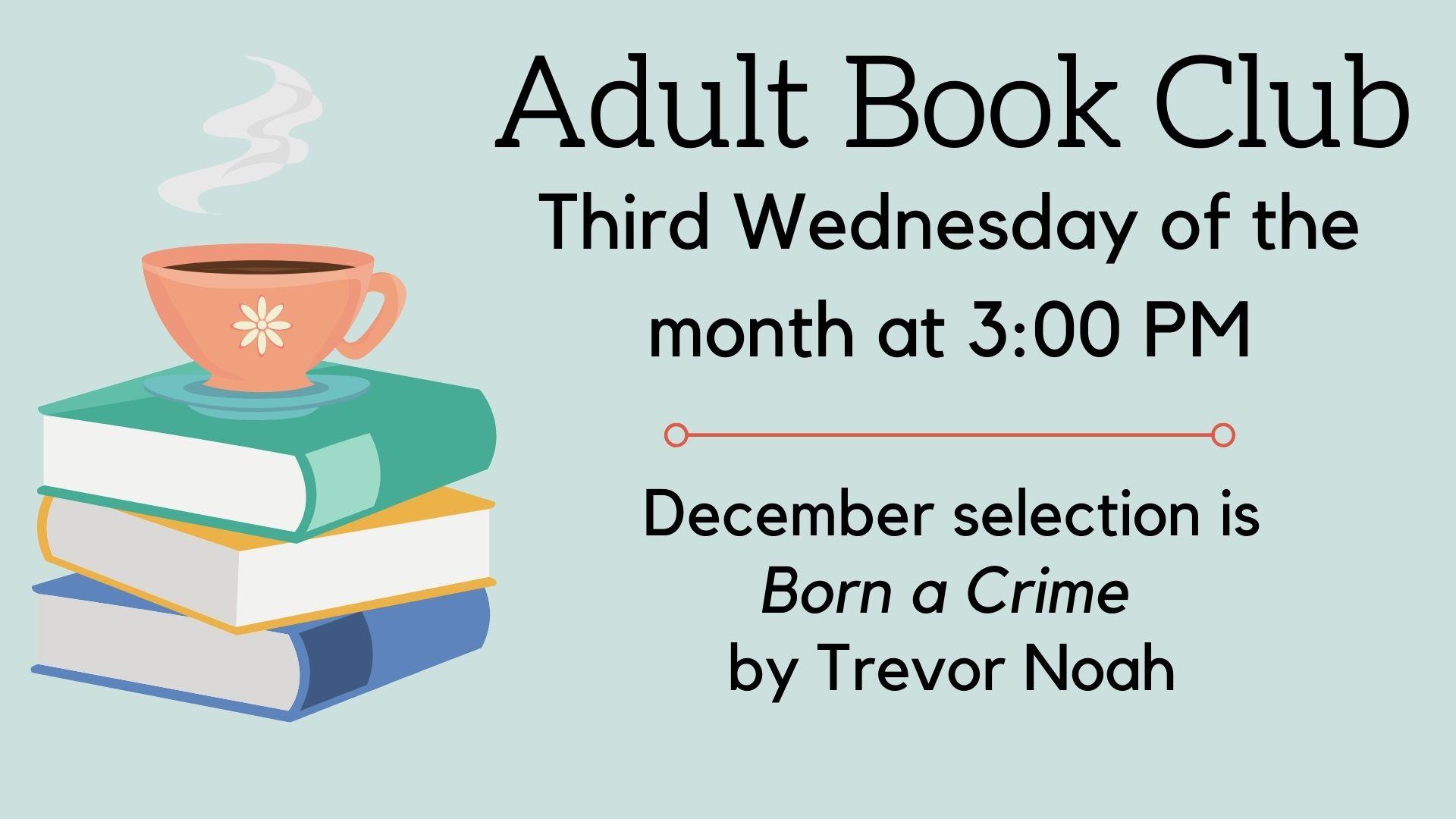 Born a Crime Adult Book Club