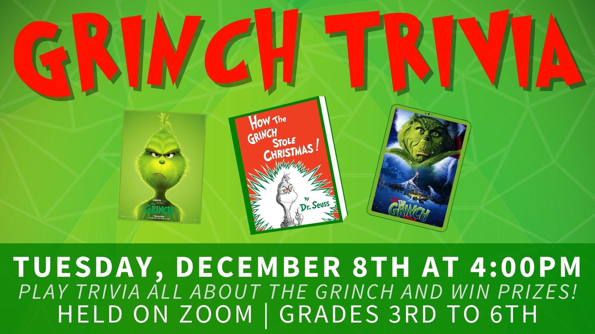 Grinch Trivia Program
