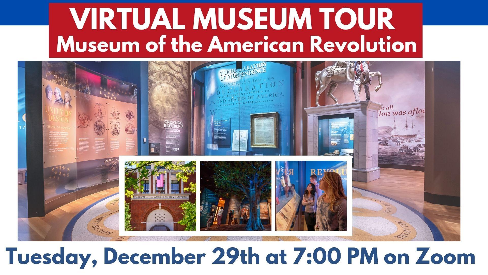 Virtual Museum Tour: Museum of the American Revolution