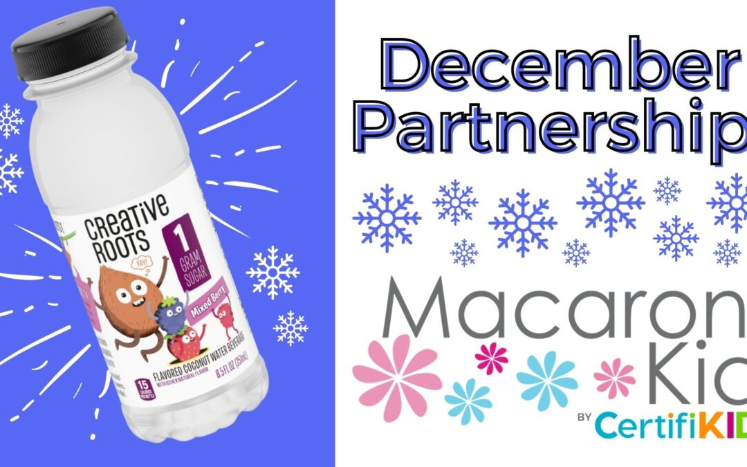 Macaroni Kid Partnership in December