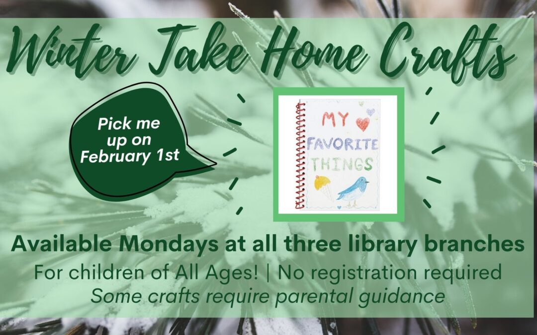 Winter Take Home Crafts