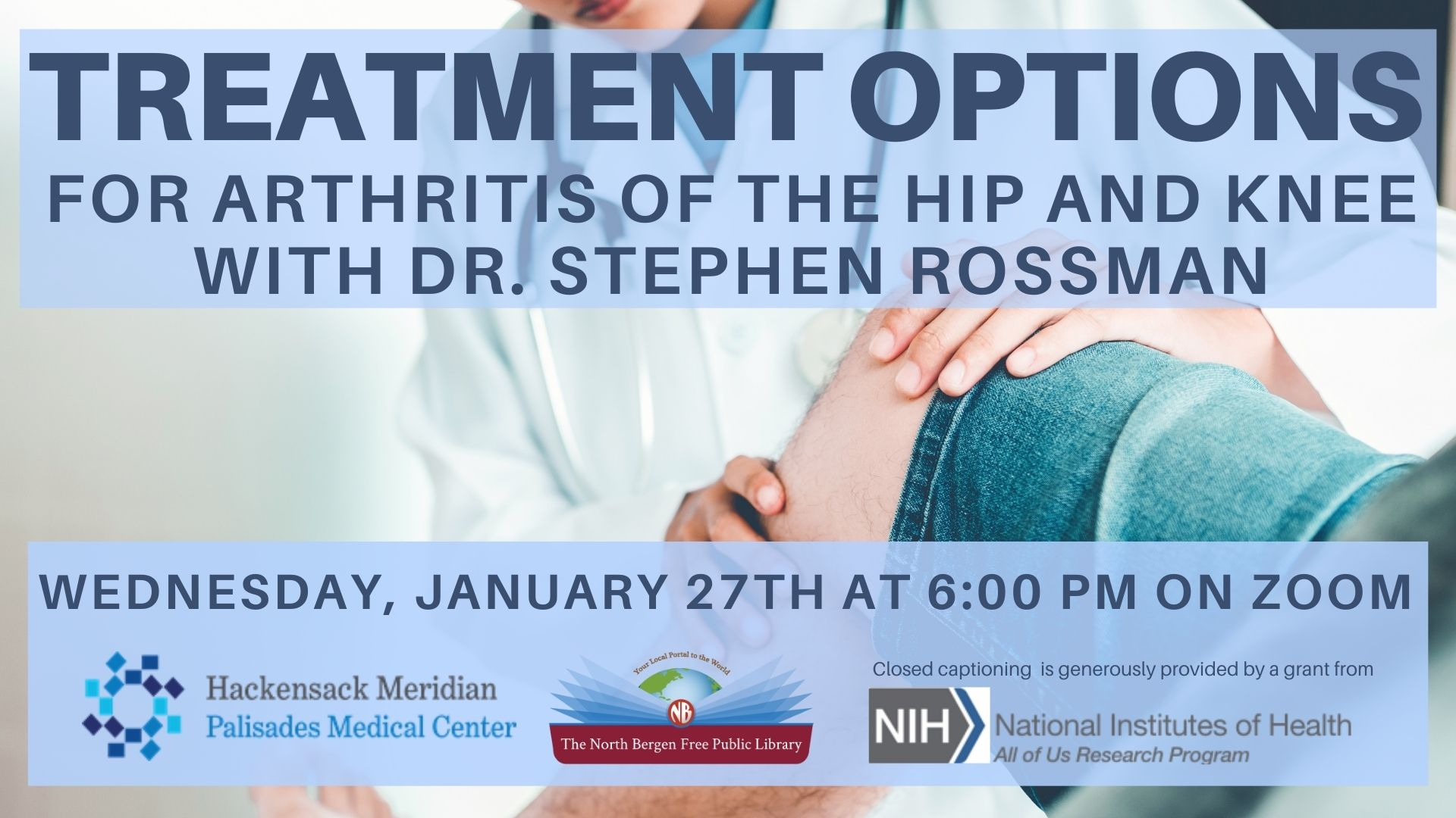 treatment options for arthritis of the hip and knee
