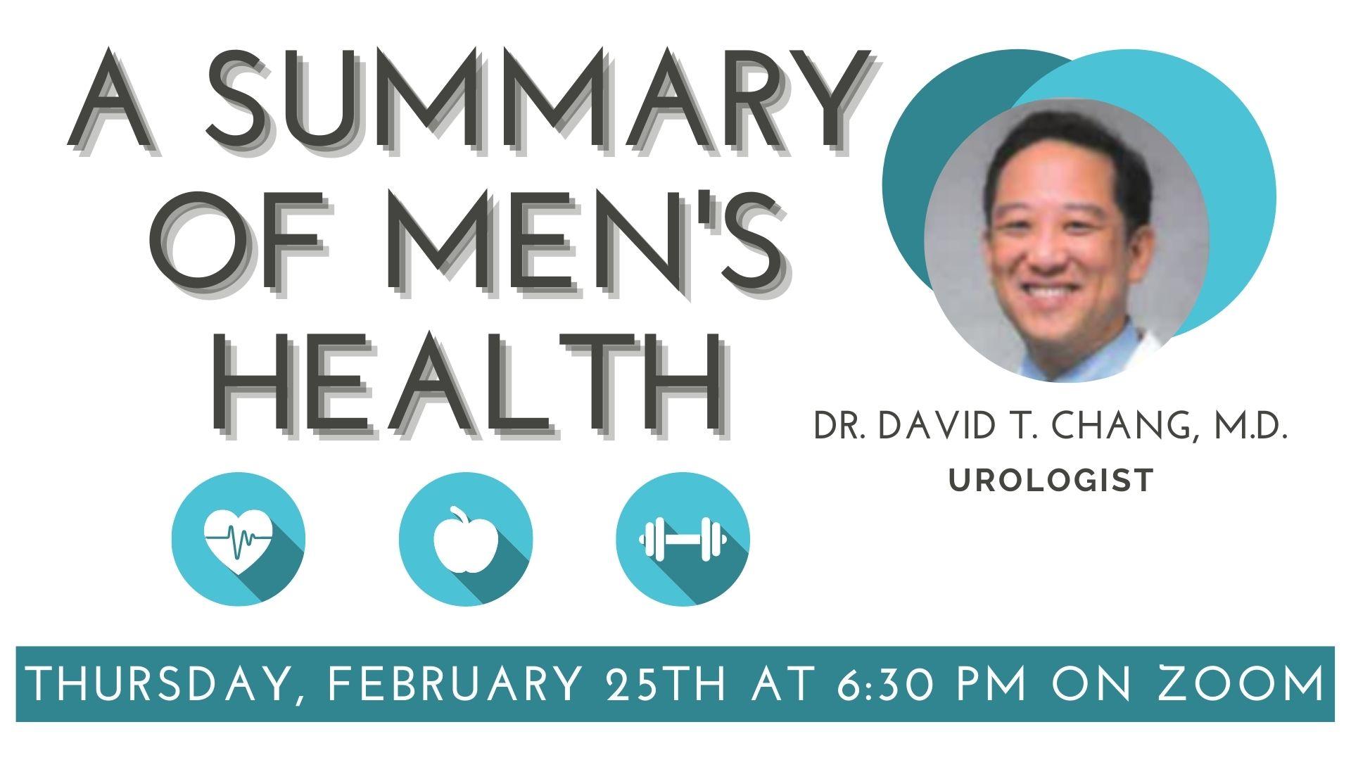 A summary of Men's Health