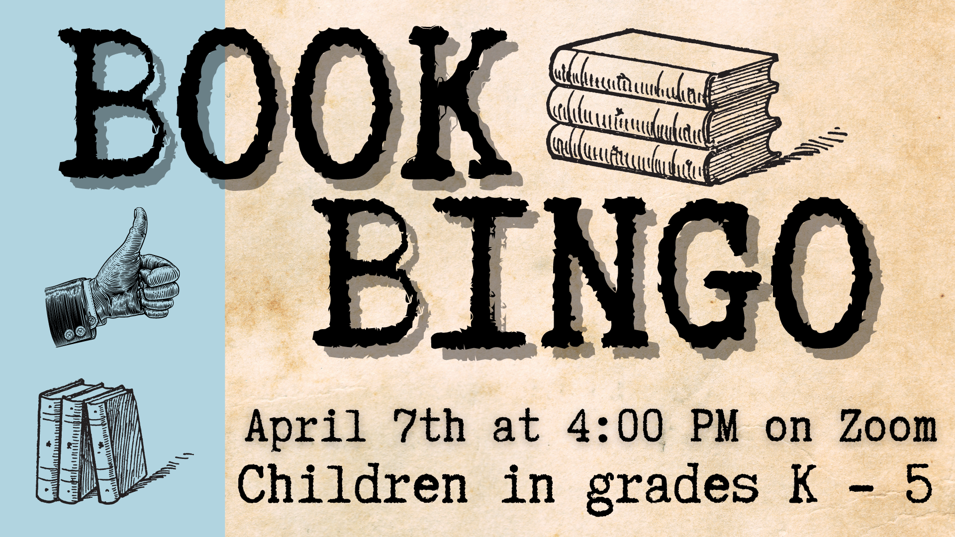 book bingo for kids