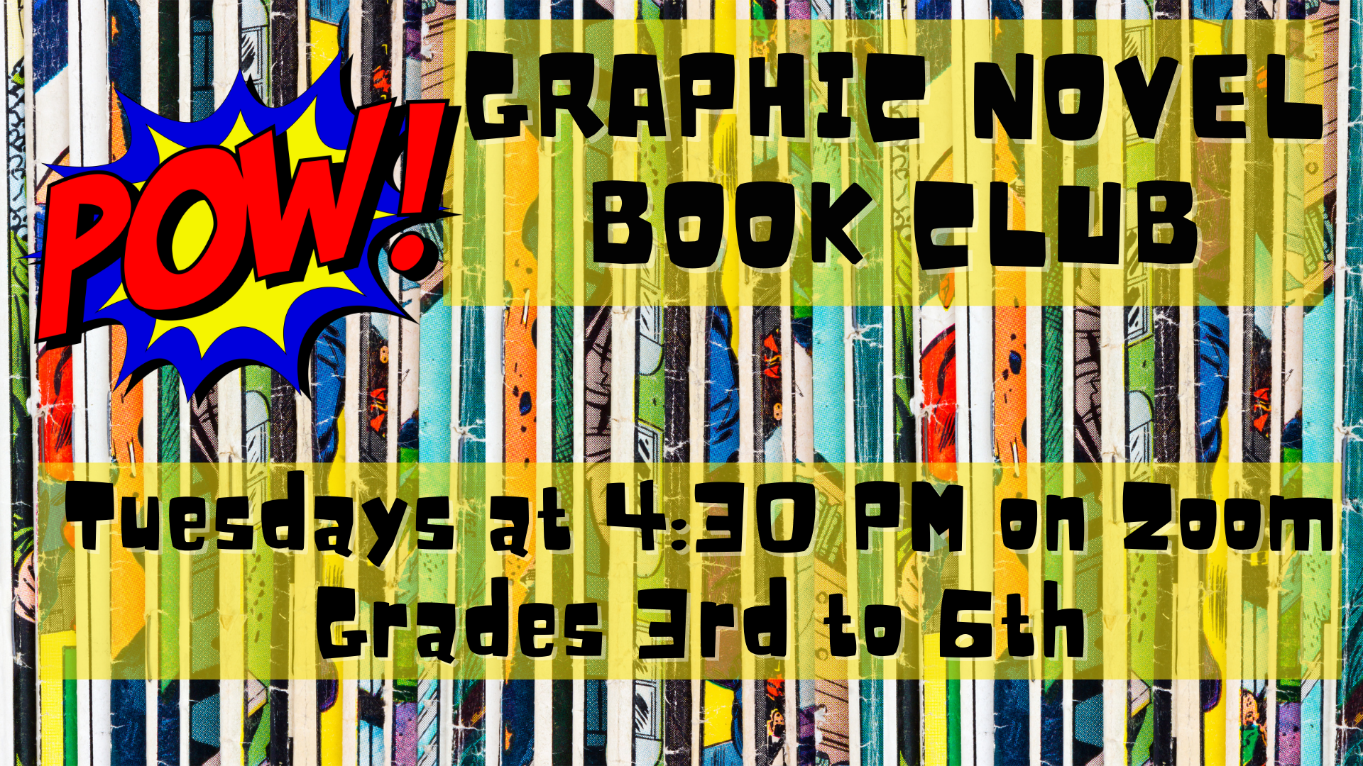 Graphic Novel book club