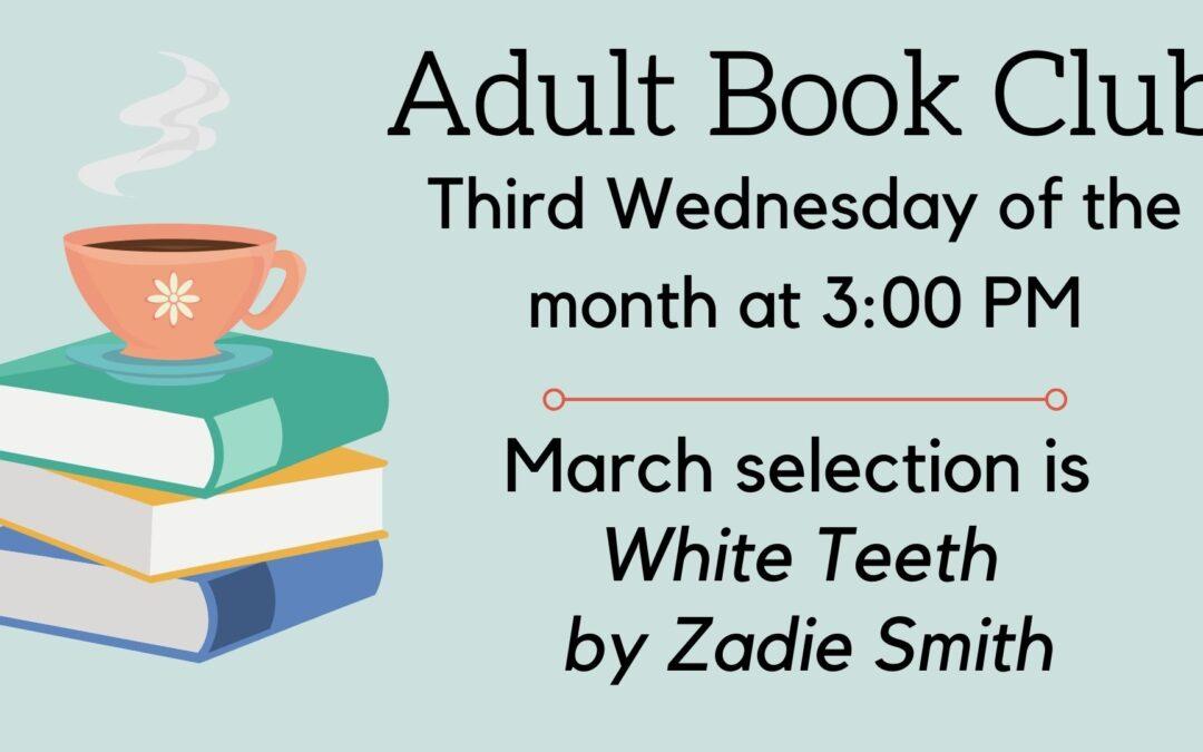 March Adult Book Club