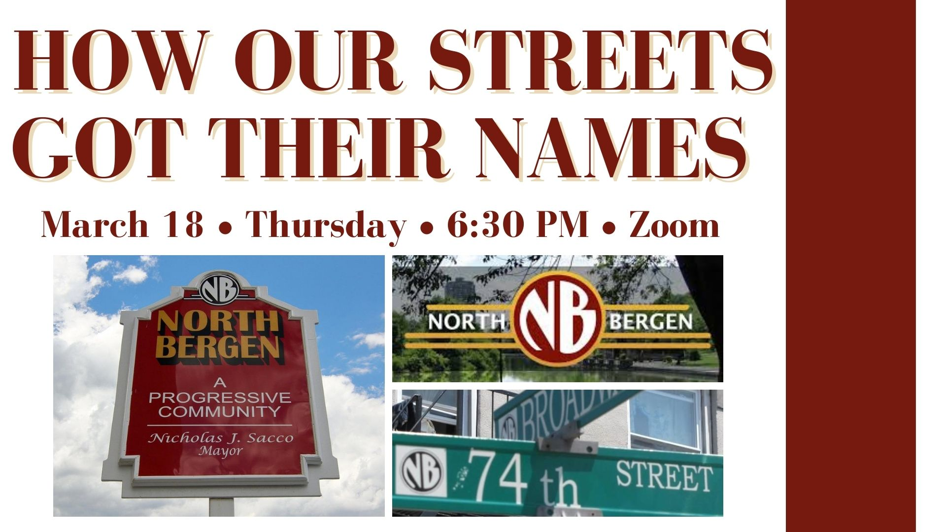 How our streets got their names