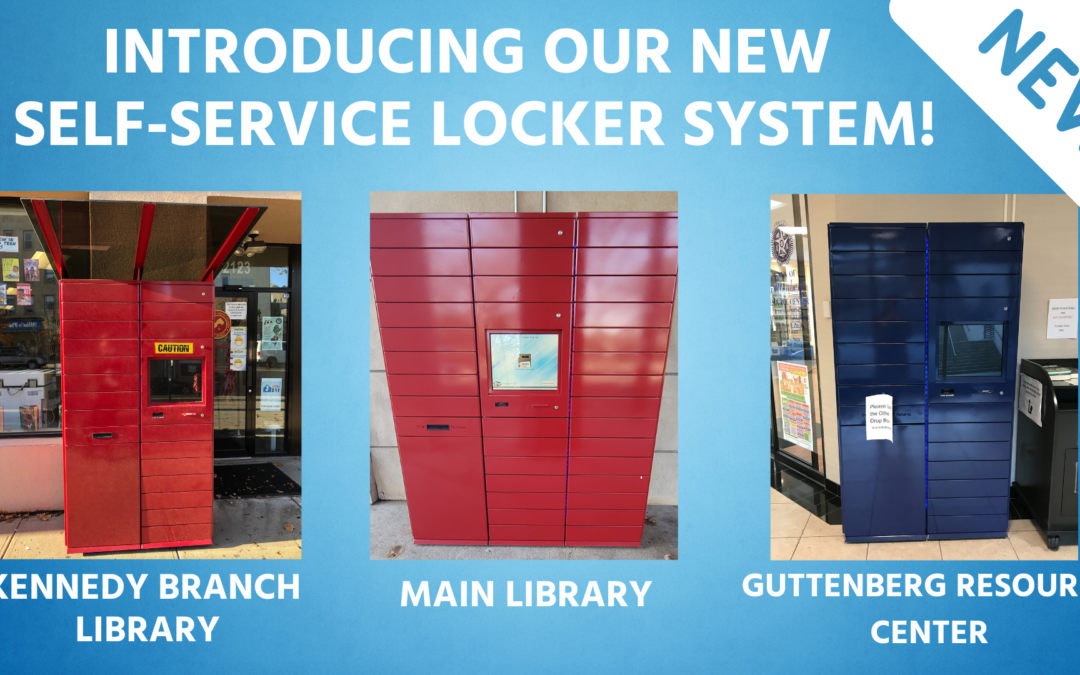 Introducing Our New Self-Service Locker System!