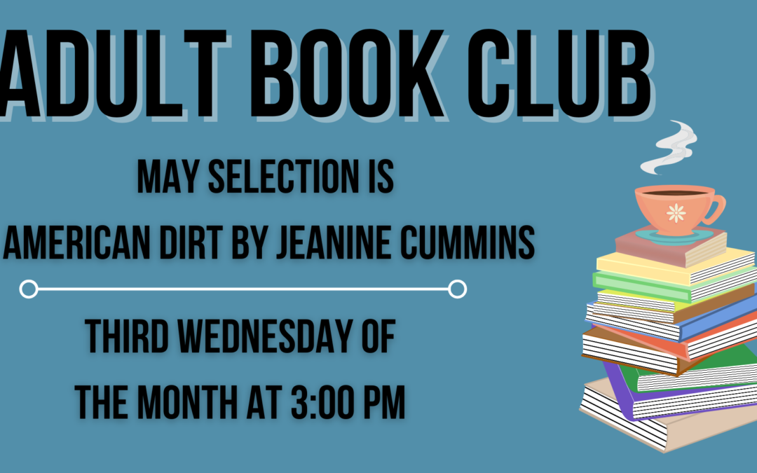 May Adult Book Club