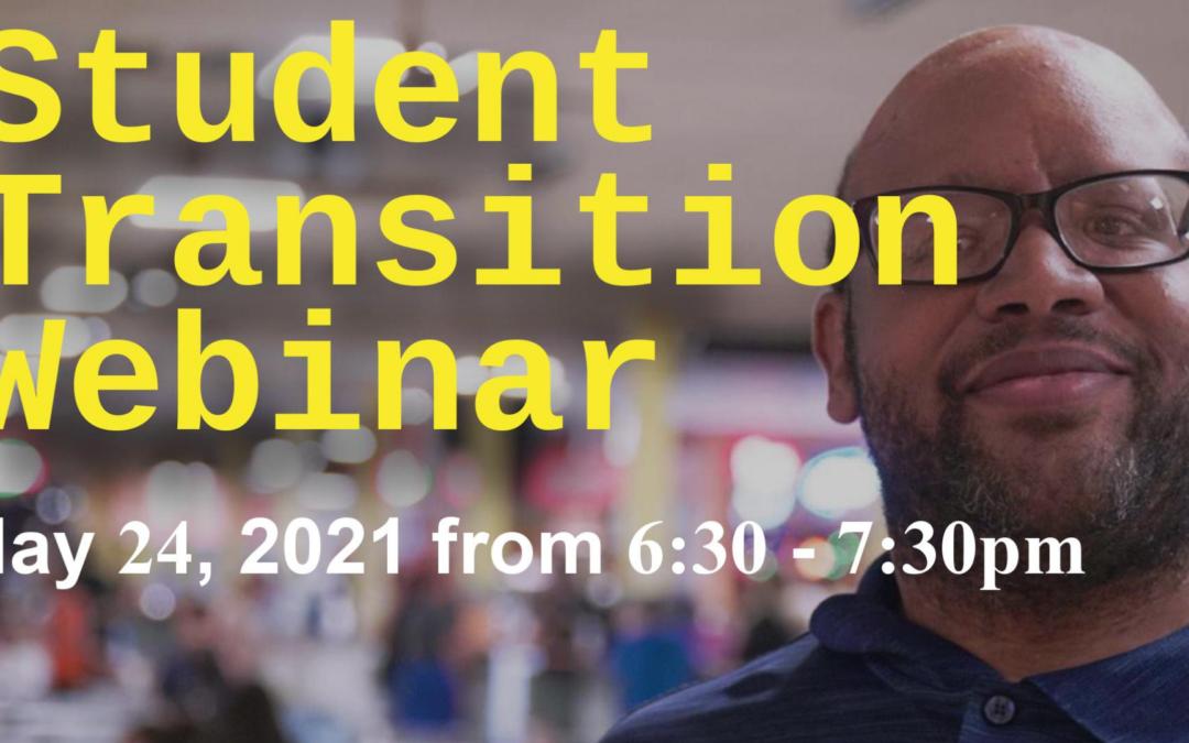 Student Transition Webinar