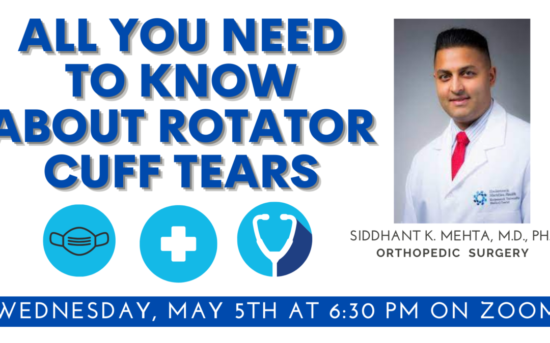 All You Need to Know About Rotator Cuff Tears with Dr. Mehta