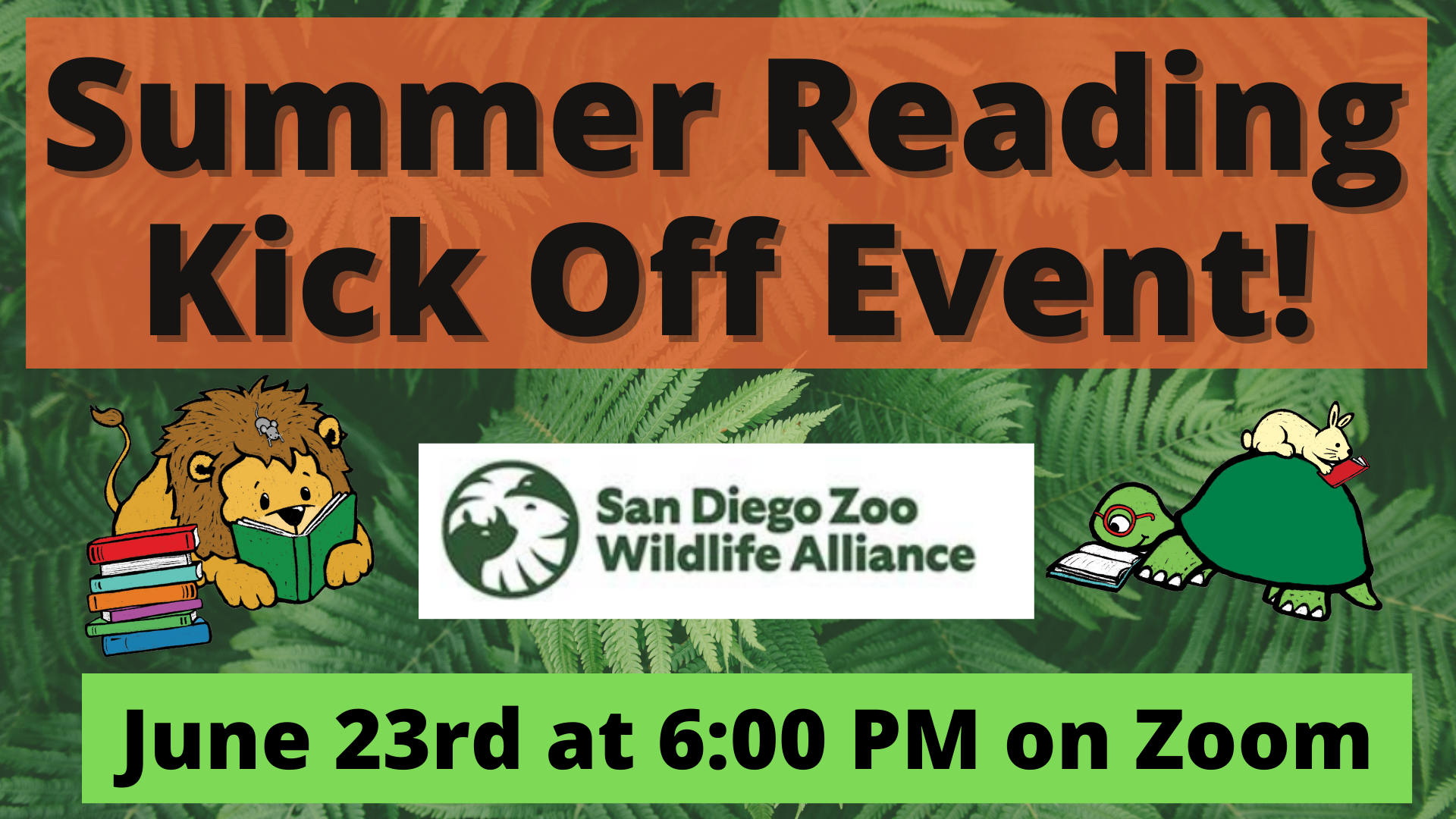 Summer Reading Kickoff with San Diego Zoo