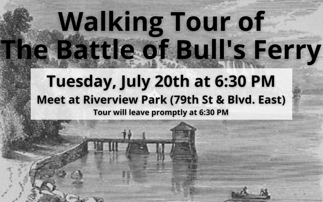 Walking Tour of The Battle of Bull's Ferry