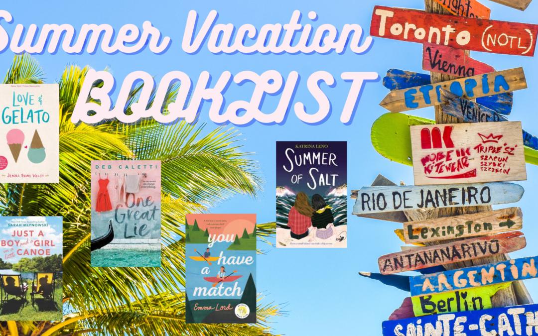 Summer Vacation Booklist