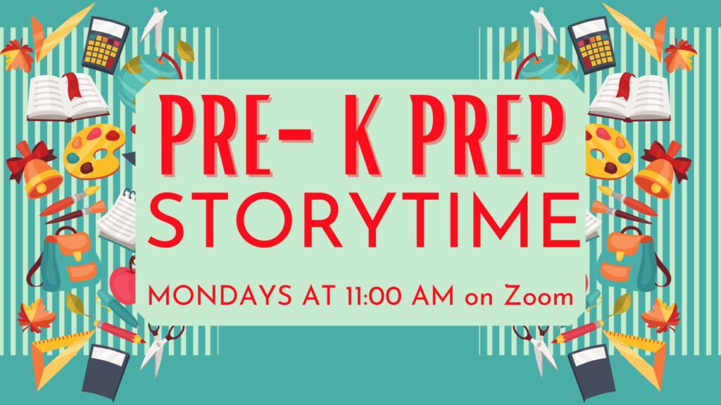 Pre-K Prep Storytime