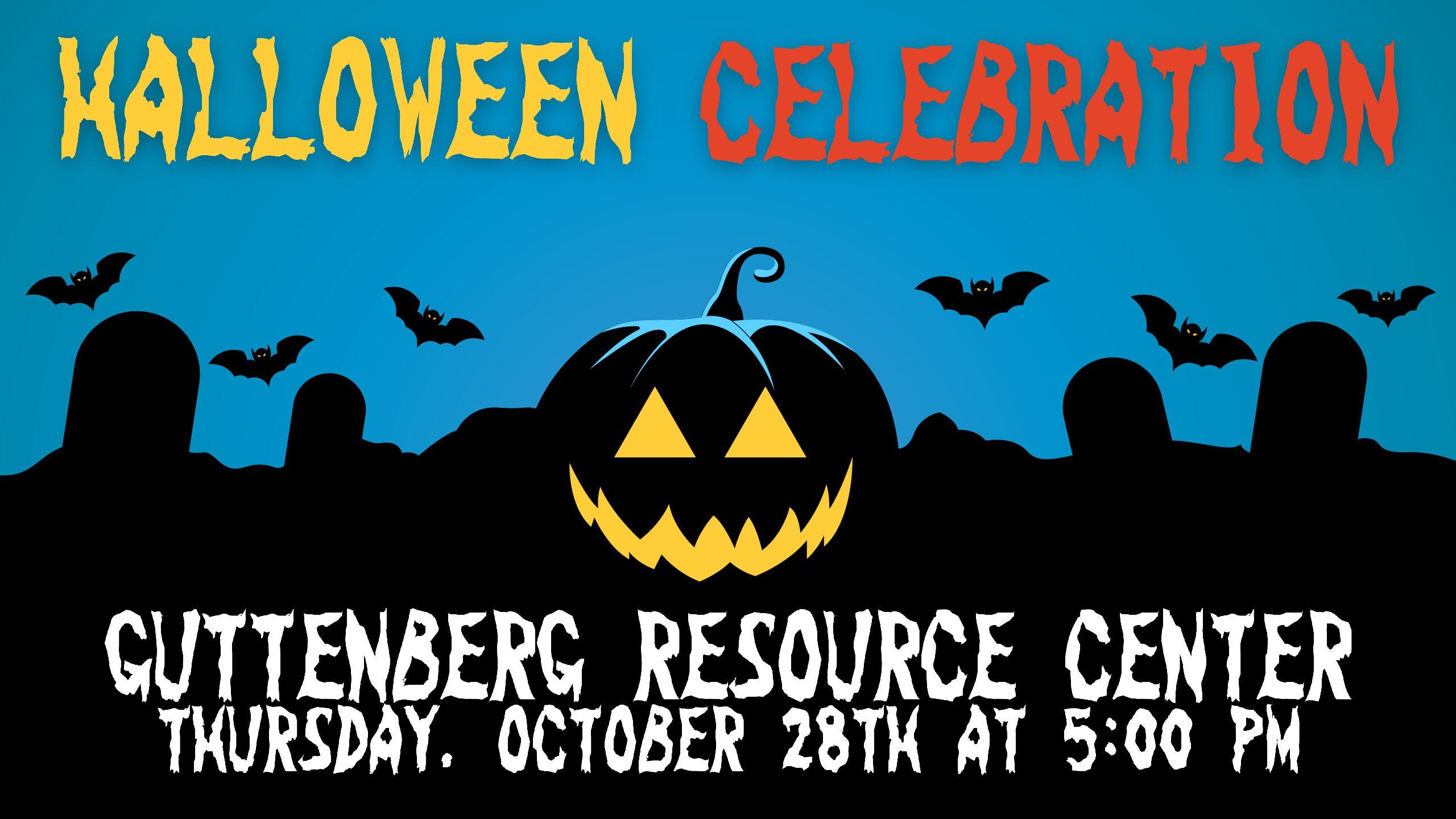 Halloween Celebration – Guttenberg Resource Center